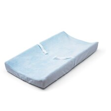 Ultra Plush™ Blue Changing Pad Cover