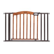 "Decorative Wood and Metal 60"" Expansion Gate"