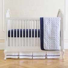 Nautical Navy Classic 4 Piece Crib Bedding Set