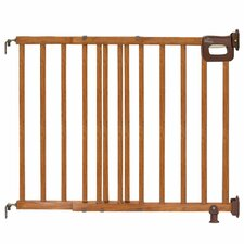 Home Safe Stairway Deluxe Wood Gate