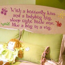 Butterfly Kiss Wall Decal