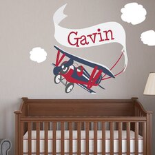 Adventure Plane Wall Decal