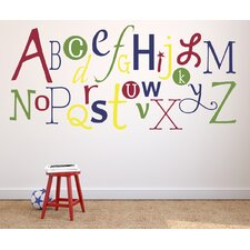 Alphabet Fun Primary Wall Decal