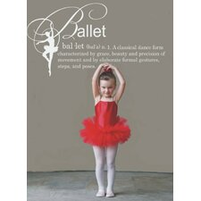 Ballet Definition Wall Decal