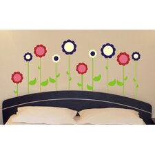 Flower Garden Wall Decal