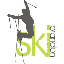 Personalized Skier Boy Wall Decal