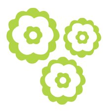 Natalie's Flower Set Wall Decal (Set of 3)