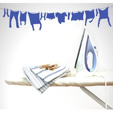 Laundry Line Wall Decal