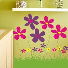 Field of Flowers Wall Decal