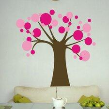 Polka Dot Candy Tree Wall Decal