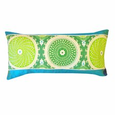 Coins Cotton Lumbar Pillow