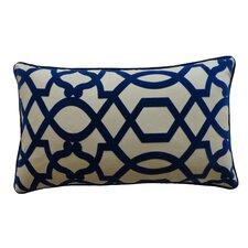 Tangled Cotton Lumbar Pillow
