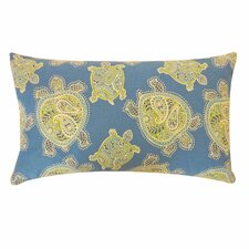 Turtle Cotton Lumbar Pillow