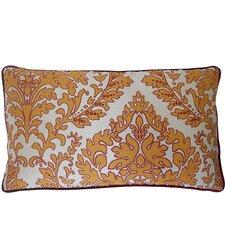 Turkish Leaves Cotton Lumbar Pillow