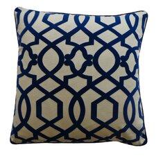 Tangled Cotton Throw Pillow