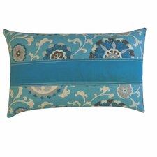 Rose Cotton Lumbar Pillow