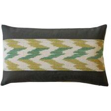 Hilo Ikat Cotton Lumbar Pillow
