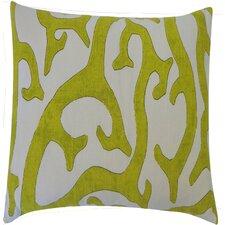 Reef Cotton Throw Pillow