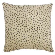 Kioto Diamond Cotton Throw Pillow