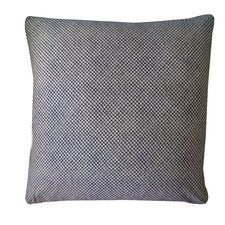 Kioto Eye Cotton Throw Pillow