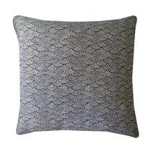Kioto Fan Cotton Throw Pillow