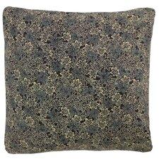 Kioto Flower Cotton Throw Pillow