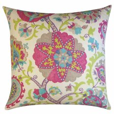 Amapola Cotton Throw Pillow