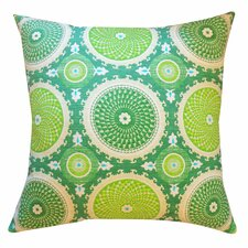 Coins Cotton Throw Pillow