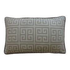 Riddle Cotton Lumbar Pillow