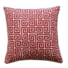 Coil Cotton Throw Pillow