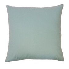 Solid Basic Cotton Throw Pillow