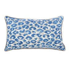 Cheetah Outdoor Lumbar Pillow
