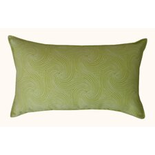 Swirl Outdoor Lumbar Pillow