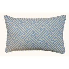 Wave Maze Outdoor Lumbar Pillow