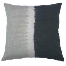 Tie Dye Bands Cotton Throw Pillow