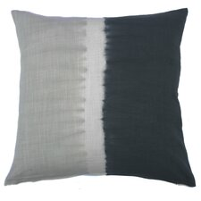 Tie Dye Bands Cotton Throw Pillow