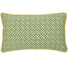 Maze Cotton Lumbar Pillow