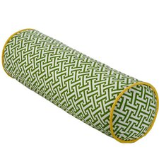 Maze Cotton Bolster Pillow