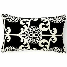 Floret Cotton Lumbar Pillow