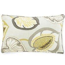 Hosta Lily Cotton Lumbar Pillow