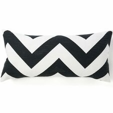 African Zag Cotton Throw Pillow