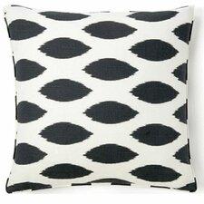 African Spot Cotton Throw Pillow
