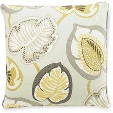 Hosta Lily Linen Throw Pillow