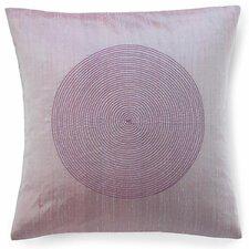 Spiral Silk Throw Pillow