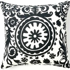 Suzani African Cotton Throw Pillow