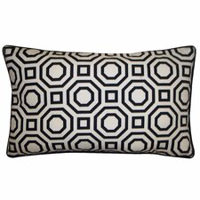 Labyrinth Cotton Lumbar Pillow