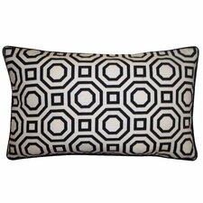 Labyrinth Cotton Lumbar Pillow