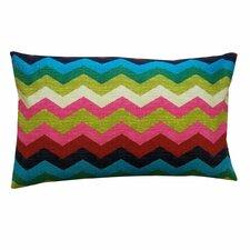 Slate Cotton Lumbar Pillow