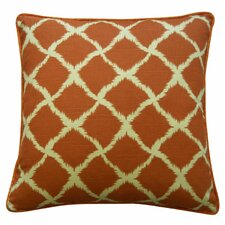 Net Cotton Throw Pillow