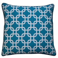 Links Cotton Throw Pillow